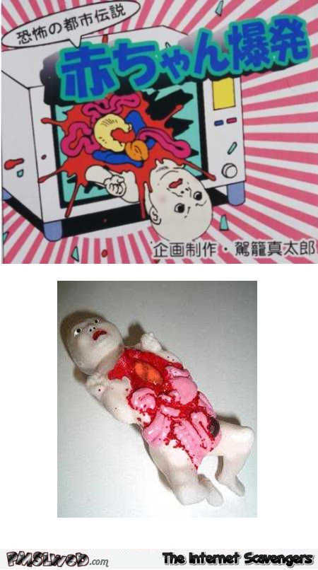 Baby in the microwave – Most inappropriate toys @PMSLweb.com
