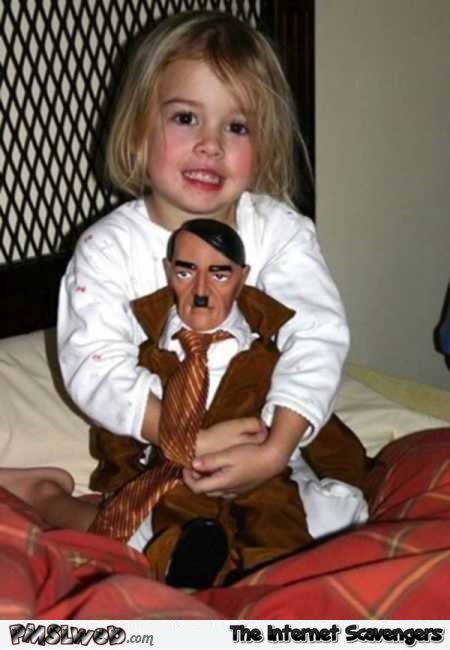 Hitler doll creepy WTF toy @PMSLweb.com