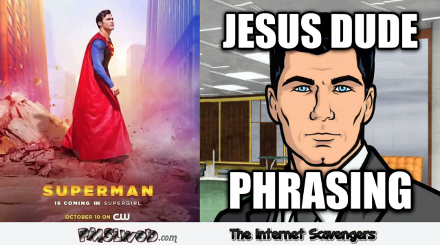 Funny Superman phrasing fail