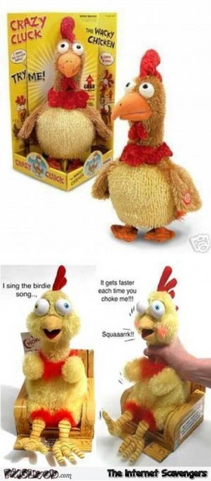 Crazy Cluck WTF toy