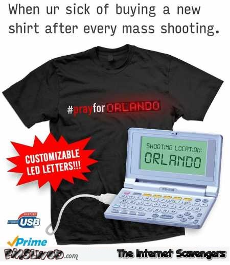 Funny shooting customizable T-shirt @PMSLweb.com