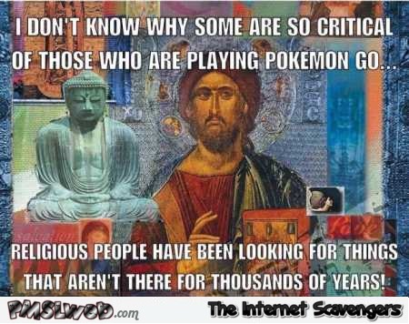 Pokemon and religion funny meme @PMSLweb.com