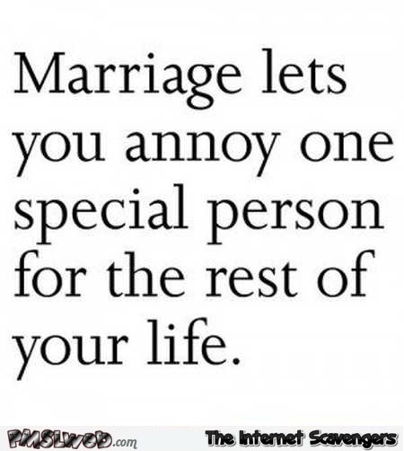 Funny quote about marriage