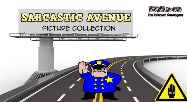 Sarcastic Avenue picture collection @PMSLweb.com