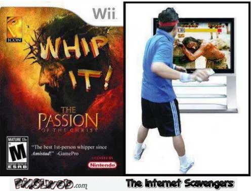 Funny passion of the Christ wii game @PMSLweb.com