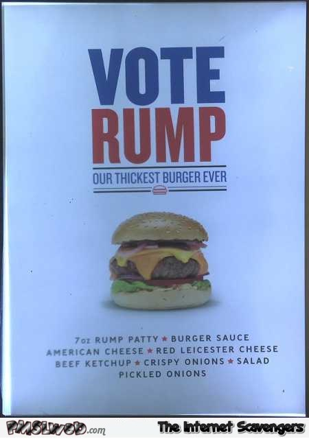 Vote Rump funny advertising – LMFAO pictures @PMSLweb.com