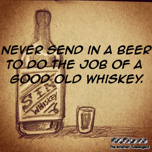Never send in a beer funny quote – Funny Friday picture dump @PMSLweb.com