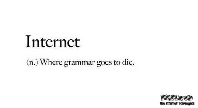 Funny definition of the Internet