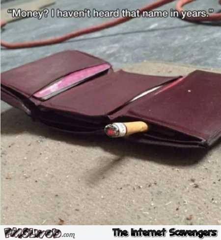 Wallet has not heard that name in years funny meme – Hilarious Sunday pics @PMSLweb.com