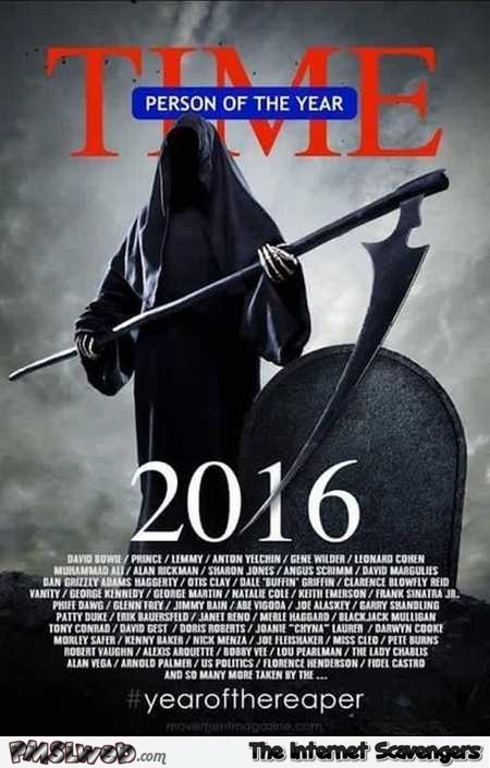 Time person of the year 2016 funny parody – Funny Wednesday picture madness @PMSLweb.com