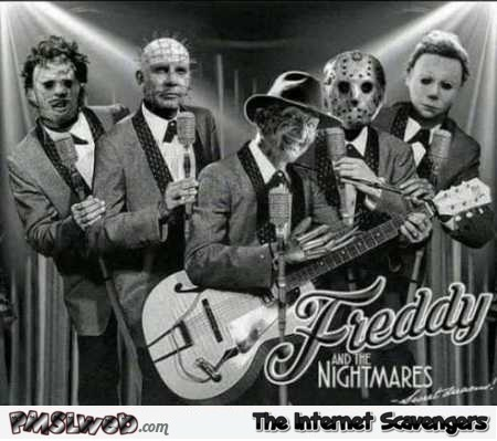 Freddy and the nightmares funny photoshop @PMSLweb.com