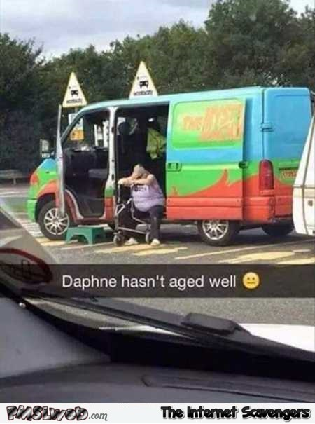 Daphne did not age well funny meme @PMSLweb.com