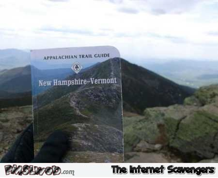 Superimposing book cover on original landscape