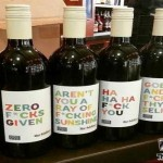 Awesome sarcastic wine bottle labels @PMSLweb.com