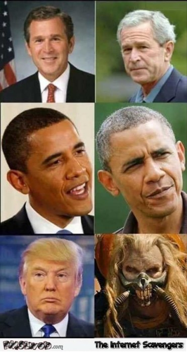 US presidents before vs after humor