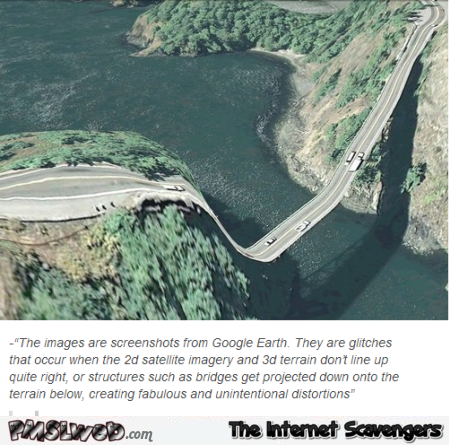 Google earth glitches explained @PMSLweb.com