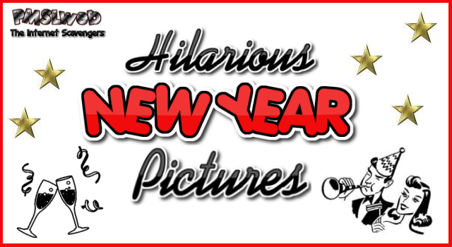 Hilarious New Year pictures