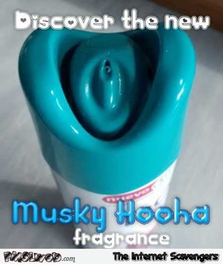 Discover the new musky hooha fragrance funny meme – Funny Sunday pics @PMSLweb.com