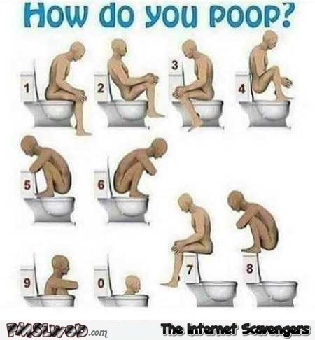 How do you poop funny guide – Funny internet guffaws @PMSLweb.com