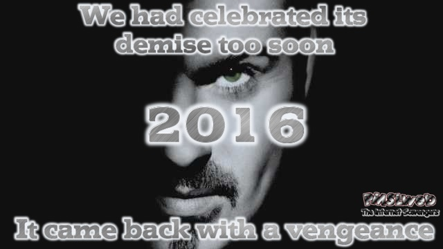George Michael 2016 is back with a vengeance @PMSLweb.com