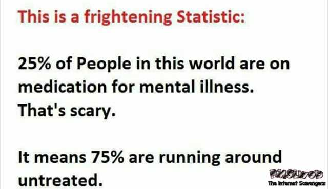 Funny sarcastic statistic