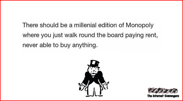New version of Monopoly humor @PMSLweb.com