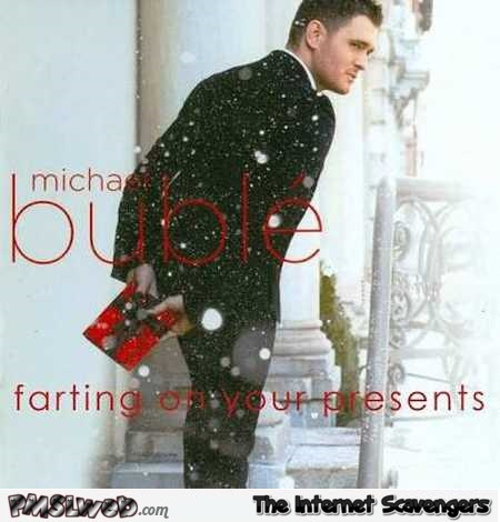 Funny farting on your presents album cover