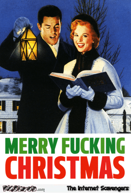Merry fucking Christmas sarcastic humor