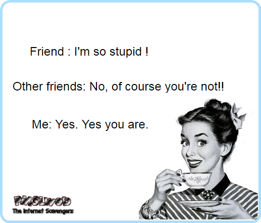 The kind of friend I am sarcastic humor @PMSLweb.com