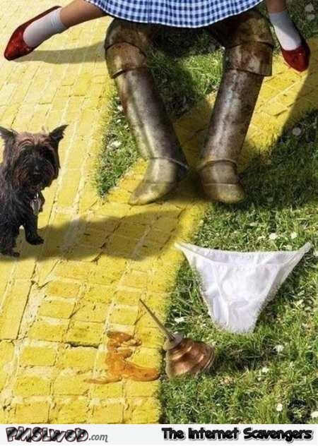 Funny naughty Wizard of Oz parody @PMSLweb.com