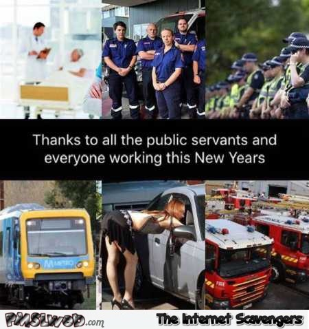 Thanks to everyone working this New Year funny meme @PMSLweb.com