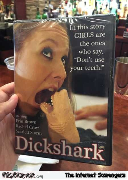 Dickshark movie adult humor @PMSLweb.com