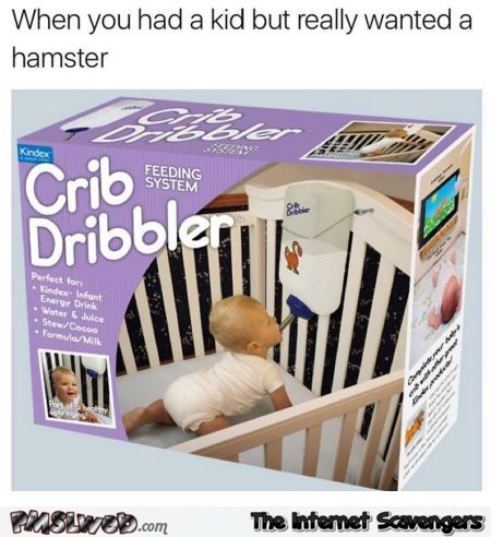 When you had a kid but really wanted a hamster funny meme @PMSLweb.com