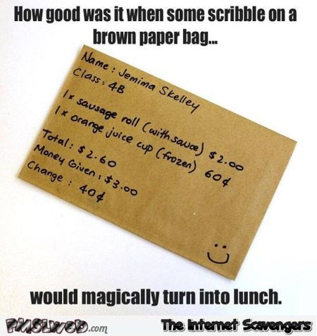 Remember the brown paper bag meme @PMSLweb.com