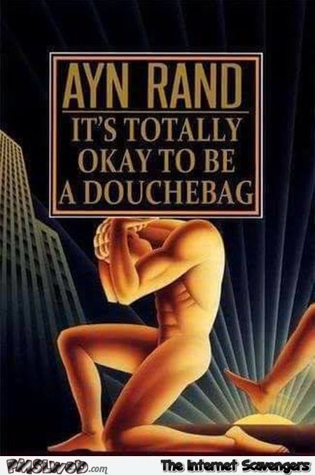 It's totally ok to be a douchebag funny book cover @PMSLweb.com