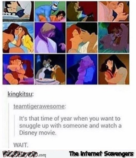 Love stories in Disney movies funny prank @PMSLweb.com