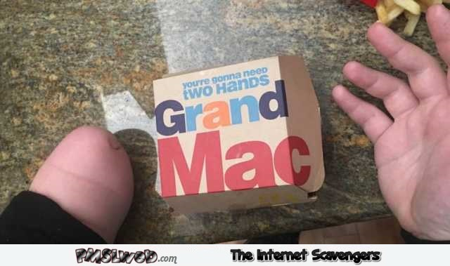 You're gonna need both hands funny big mac wrapper fail @PMSLweb.com