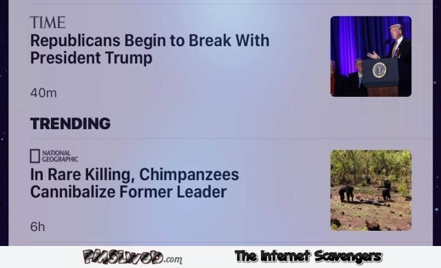 Trending news Times versus National Geographic humor - Sunday chuckles collection @PMSLweb.com
