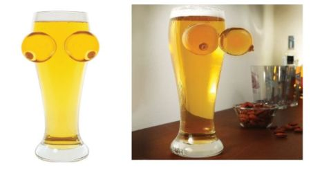 Funny boobies and beer glass @PMSLweb.com