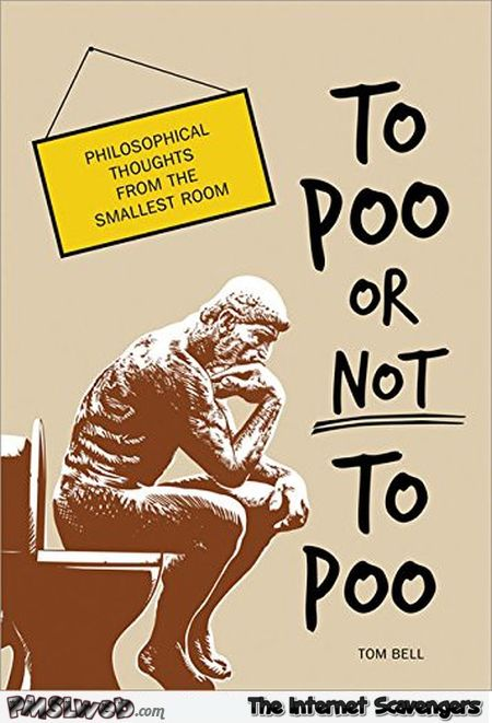 To poo or not to poo funny book