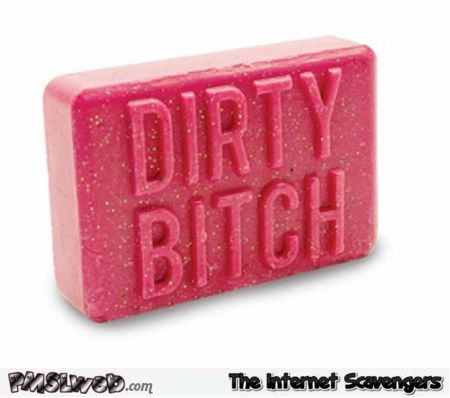 Funny dirty bitch soap