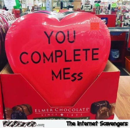 Funny you complete me meme - Hilarious Valentines day guide @PMSLweb.com