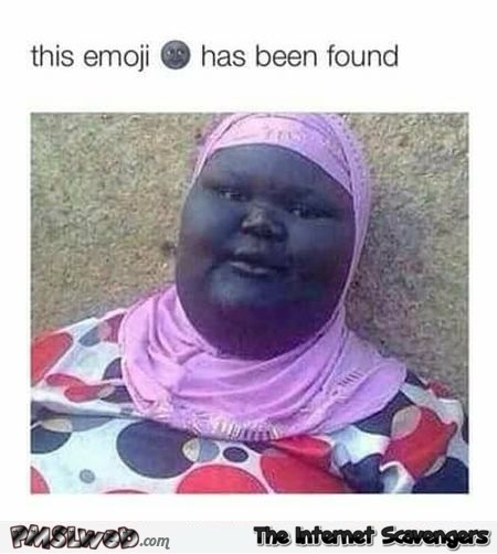 This emoji has been found funny meme @PMSLweb.com