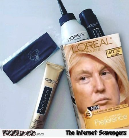 Funny Trump L'Oreal - Wacko Thursday funnies @PMSLweb.com