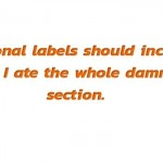 What nutritional labels lack funny quote @PMSLweb.com