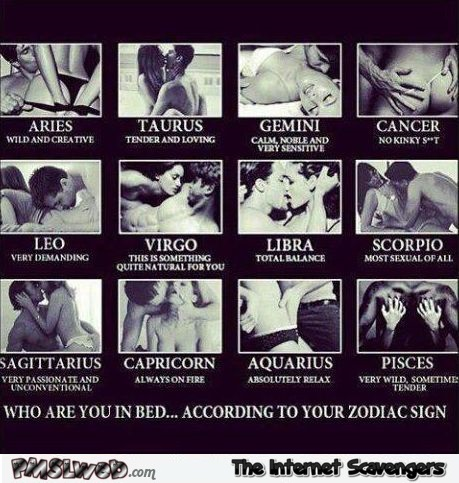 Sexy adult astrology meme @PMSLweb.com