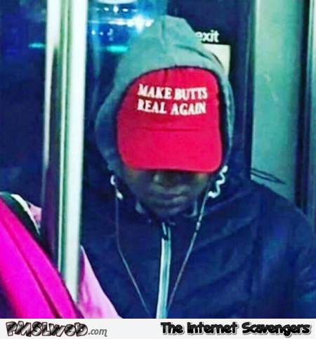 Funny make butts real again cap