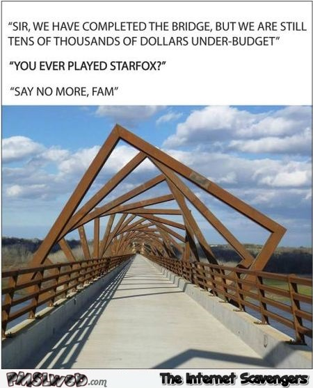 Have you ever played starfox funny bridge meme @PMSLweb.com