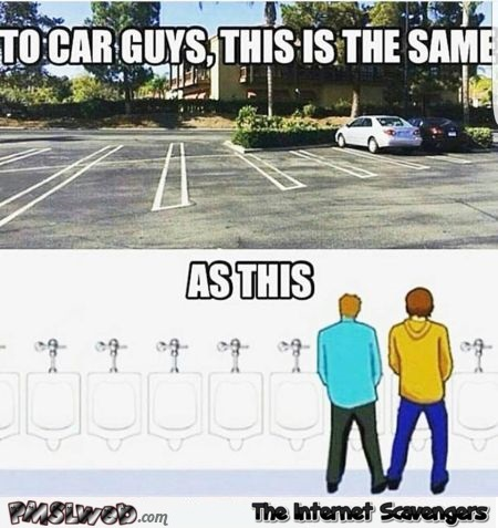 To car guys this is the same as this funny meme @PMSLweb.com