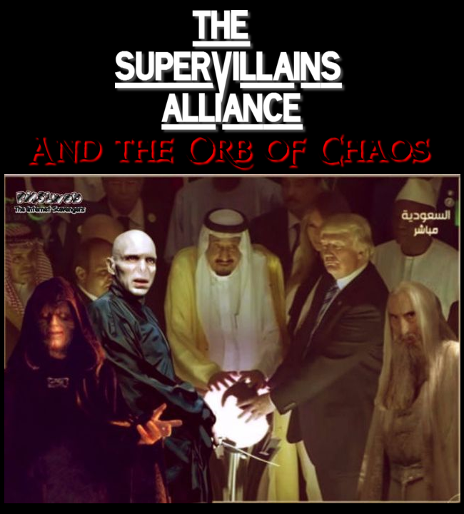 The Supervillains alliance and the orb of chaos humor @PMSLweb.com